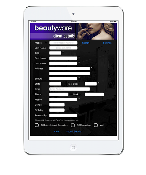 Hairware Beautyware Client Apps